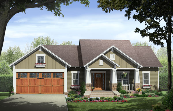 front image - Front Home Designs