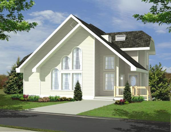 New House Plan HDC-2667-24 is an Easy-to-Build, Affordable 2 Bed 2 ...