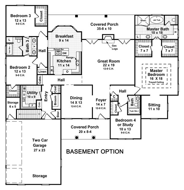 house plans and home designs free » blog archive » basement home