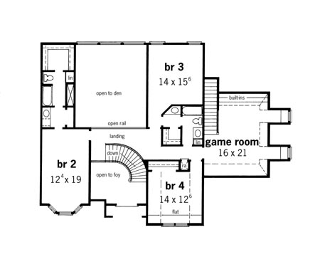New House Plan HDC-4300-2 is an Easy-to-Build, Affordable 4 Bed ...